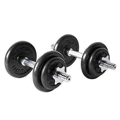 Cap Barbell 40-Pound Dumbbell Set, Adjustable Weight Plates, New, Free Shipping