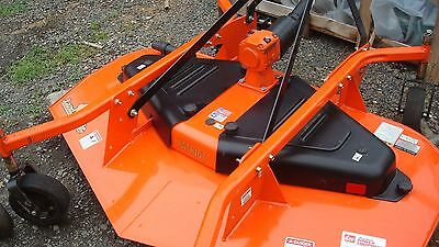 Gently Used Landpride (Kubota Orange) Fdr1672 Rear Discharge Grooming Mower