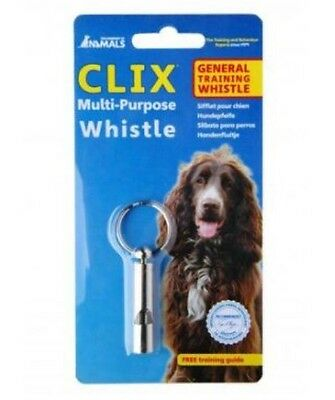 CLIX Multi-Purpose Dog Whistle ~ For General Training ~ With Free Training Guide