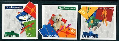 Weeda Canada 2004i-2006i VF NH Die cut Christmas singles from Annual Collection