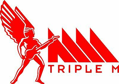 Triple M Vinyl Cut Decal Sticker