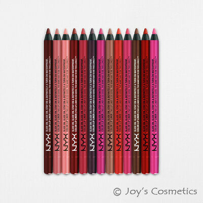 "1 NYX Slide On Lip Pencil - Waterproof "" Pick Your 1 Color ""   *Joy's cosmetics*"