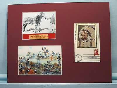 Comanche,the sole survivor of Custer's Last Stand & Crazy Horse First day Cover