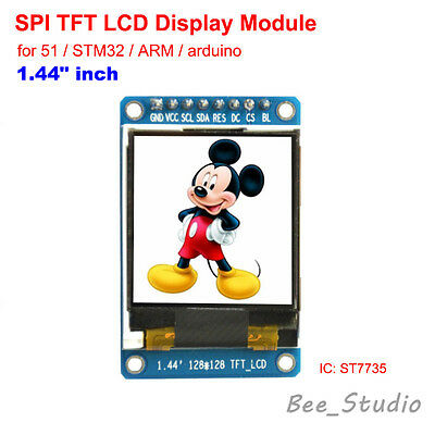 1.44 inch Full Color 128x128 SPI TFT LCD Display Module replace OLED for Arduino
