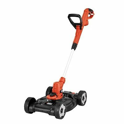 Black & Decker MTE912 12-Inch Electric 3-in-1 Trimmer/Edger and Mower, 6.5-Amp