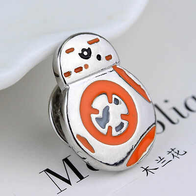 STAR WARS BB8 Logo Metal Pin brooch prop badge darth vader cosplay rogue one