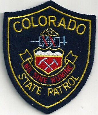 Colorado State Police - Shoulder - Iron On Patch