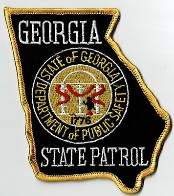 Georgia State Patrol - Shoulder Style - Iron-On Patch