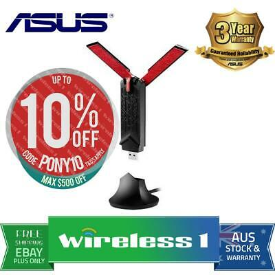 ASUS USB-AC68 Dual-Band AC1900 USB Wi-Fi Adapter