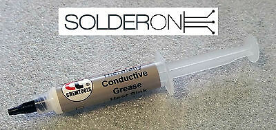 10g Silicone Thermally Conductive Grease Heat Sink Compound 5cc - Chemtools