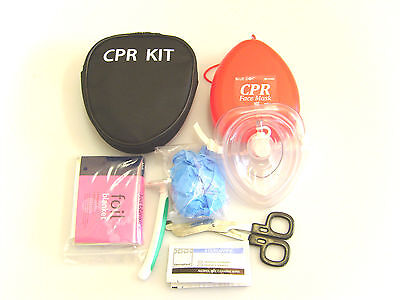 CPR RESUSITATION  Kit with FREE PERSONALISED LOGO PRINTING