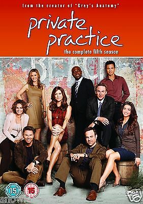 PRIVATE PRACTICE COMPLETE SERIES 5 DVD Fifth 5th Season Five Original UK NEW R2
