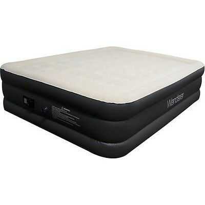 Wanderer Airbed Double High Queen with Pump