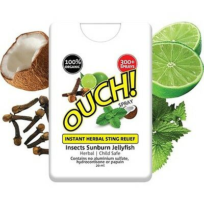 Ouch Instant Herbal Sting Relief - 20ml