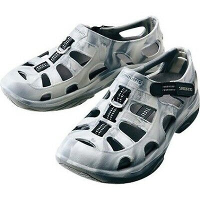 Shimano Evair Aqua Shoes - Mens, Grey Camo, 12