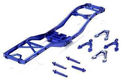 INTEGY Blue Alloy Ladder Frame Chassis Kit for Axial SCX-10 Dingo, Honcho & Jeep