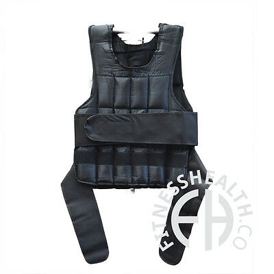 FH Pro Weighted Vest CrossFit Bodyweight Heavy Training 20kg Weights Jacket