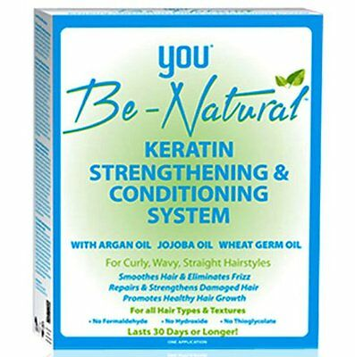 YOU Be-Natural Keratin Strengthening & Conditioning System Last 30 Days