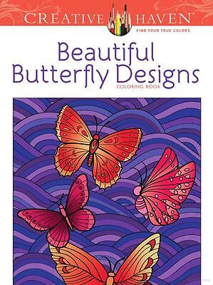 Dover Publications Beautiful Butterfly Designs Coloring Book