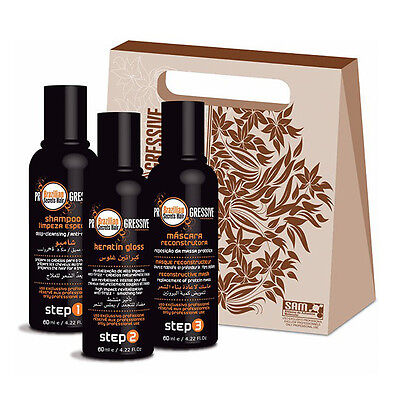 #Kit lissage Brésilien 60ml Brazilian Secrets Hair