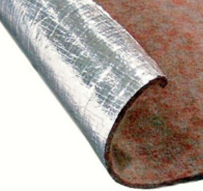 """THERMOGUARD 14120 Sound & Heat Insulation Mat 48"""" x 72"""" ONE SIDED FOIL"""
