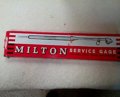 5 Milton Industries s-982  Dual Head SERVICE GAGE 10-160PSI