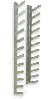 12 place Screen Printing Squeegee Rack / Holder / screenprinting 3-4 place racks