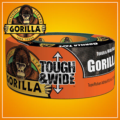 27 Metre Gorilla Tough & Wide Tape Heavy Duty Waterproof Duct Weatheproof Strong
