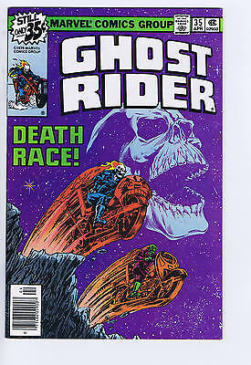 Ghost Rider #35 Marvel 1979 Classic Death Race