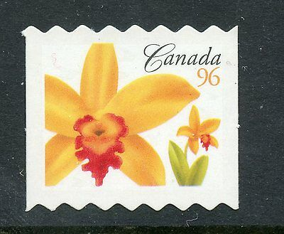 Weeda Canada 2245ii VF NH Die cut 96c Flower coil single, from Annual Collection