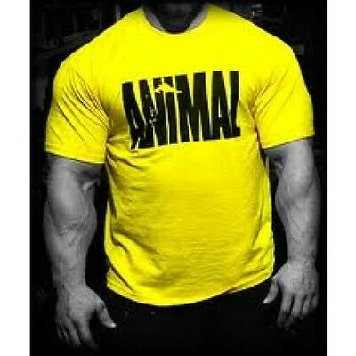 Universal Animal Iconic T-Shirt Gym MMA Vest Bodybuildning All Colours ORGINAL