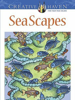 Creative Haven SeaScapes Coloring Book