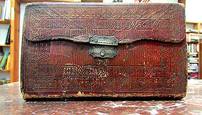 The Holy Bible, Cambridge, 1823, Antique, Vintage, with clasp, Leather