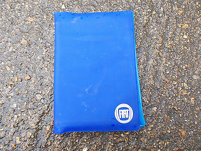 Fiat Dark Blue Plastic Documents Wallet With Manufacturers Logo On Front Cover