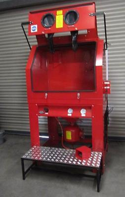 Industrial Sand Blasting Cabinet.PSBC990 Pressure Blast Cabinet Ideal for Wheels