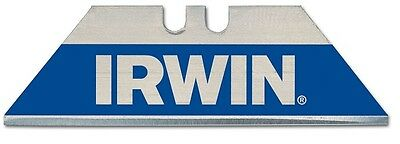 IRWIN Blue Bi-Metal Trapezoid Trimming Knife Blades Pack of 10 - 10504241