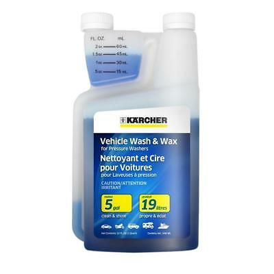 Vehicle Wash and Wax Concentrated Detergent (1QT)