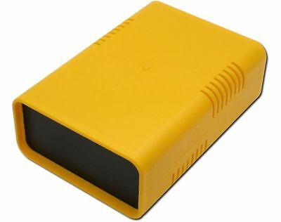 Half shells Casing Euro Box small 95 x 135 x 45 Yellow Plastic Casing