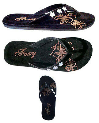 New  Ladies Beaded Flower Slip On and Go Sandals***5011**