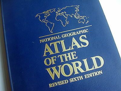 National Geographic Atlas Of The World~Revised Sixth Edition~1996