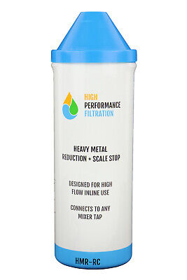 High Flow Heavy Metal Water Filter Replacement Cartridge H1-19HMR-RC| Hi Flow