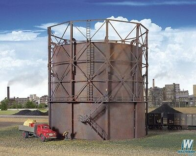2907 Walthers Cornerstone Gas Storage Tank - Kit  HO scale