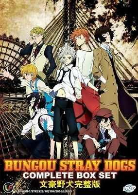 DVD Bungo Stray Dogs (Chapter 1 - 12 End)  English Subtitle + Free anime