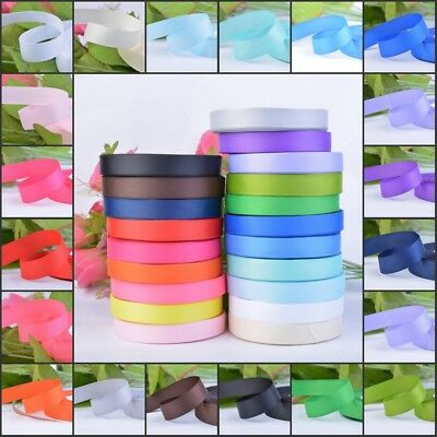 Grosgrain Ribbon Roll 25 Yards 10 15 25 38mm Wide Wedding Card Make Gift Deco