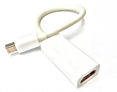 Thunderbolt Minidisplayport auf zu HDMI Adapter Apple Macbook Pro Air Mac 1080p