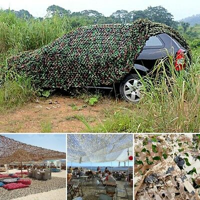5M x1.5M Camouflage Net Camo Netting Hunting Shooting Hide Army Woodland Shelter