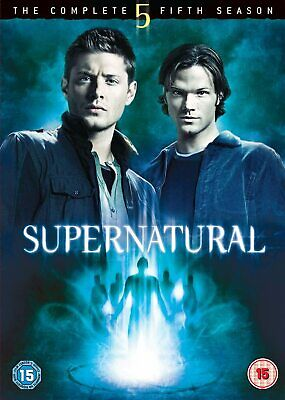 SUPERNATURAL COMPLETE SERIES 5 DVD SEASON NEW Original 5th Fifth SUPER NATURAL