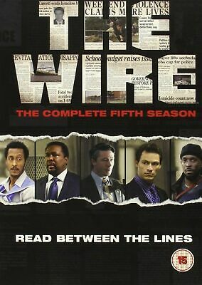 THE WIRE COMPLETE SERIES 5 DVD 5th Fifth Season Brand New Sealed UK Release