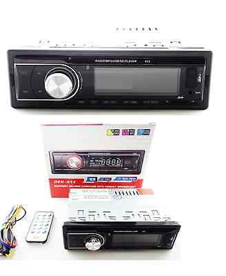 AUTORADIO BLUETOOTH STEREO PER AUTO RADIO FM MP3 USB SD AUX SD 25Wx4 DEH-612