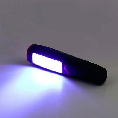 Magnetic Portable Cordless Battery Power 37 LED Inspection Work Light Lamp Torch